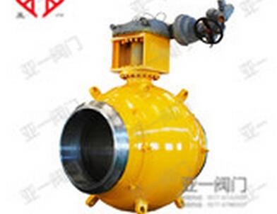 全焊接球阀在供热管的发展图片